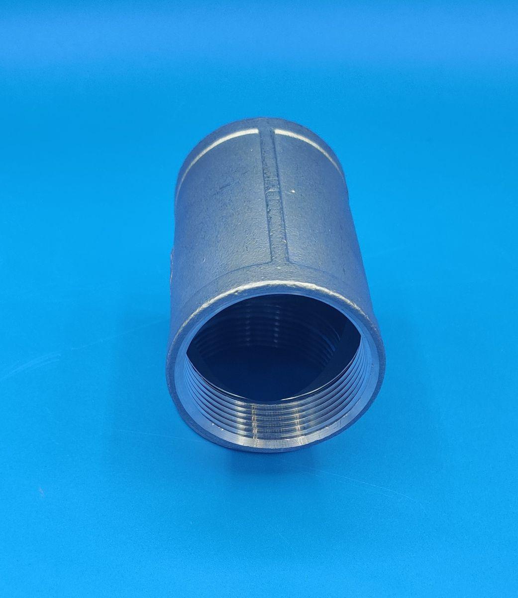 112 bspp equal tee stainless steel