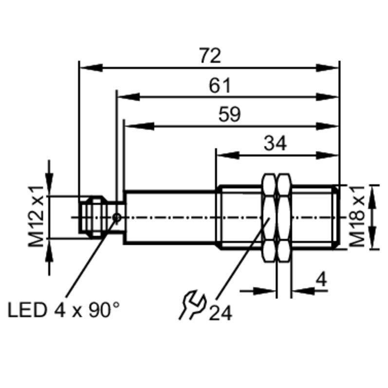 ogs700 laser fotocel transmitter module laser pointer