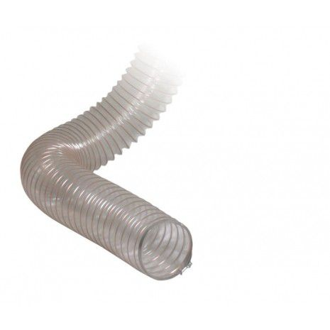 2 12 inch pvc flexible hose 10 metres per piece extraction wall fittings