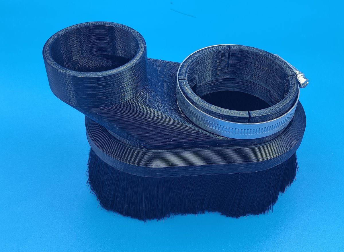 2kw iso20 atc tekno spindle 67mm to 60mm hose dust shoe uk 8414900