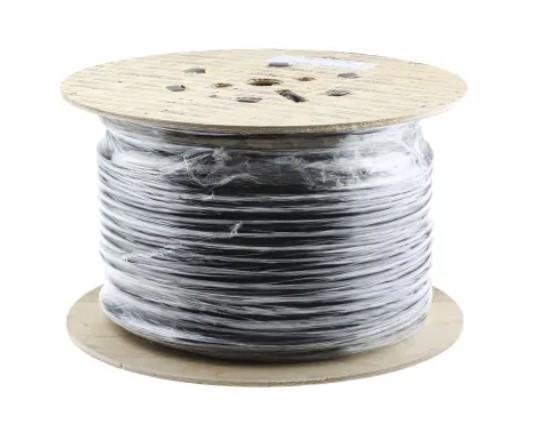 3 core 25 mmsq mains power cable black pvc sheath 100m 20 a 500 v 3183y h05vvf