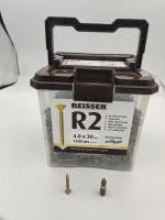 4 X 30 REISSER SCREWS TUB 1500