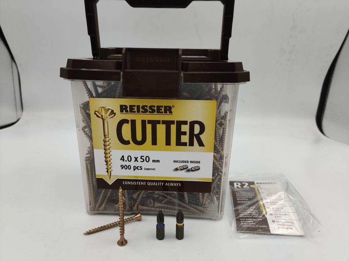 4 x 50 reisser screws tub 900