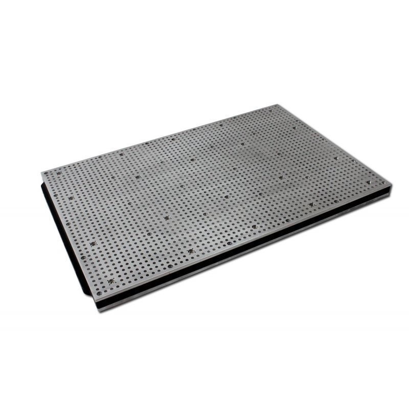 600mm x 400mm vacuum table hole grid type