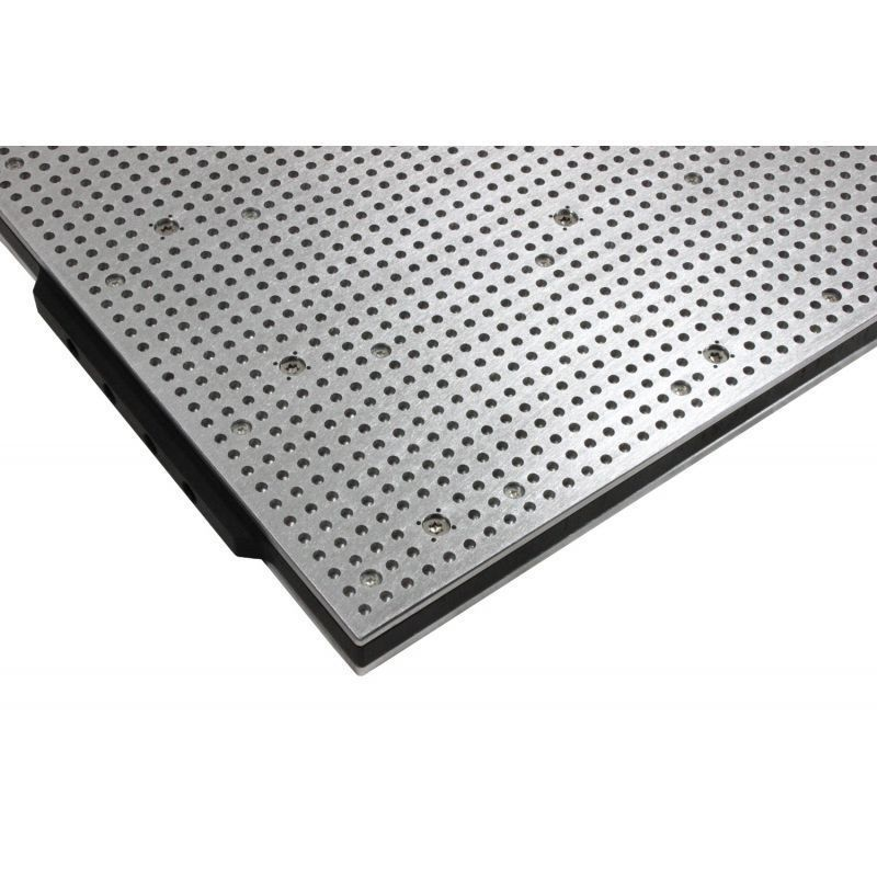 800mm x 600mm vacuum table hole grid type