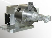 80mm 4th axis module with 80mm rotary chuck