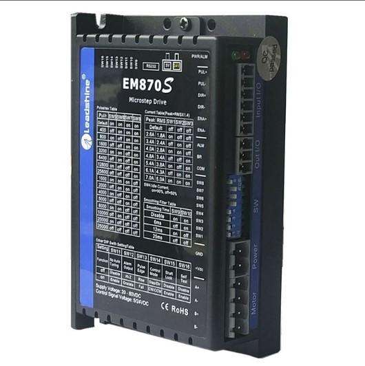 advanced digital stepper drive em870s 80v 70a 2phase cn 90328990