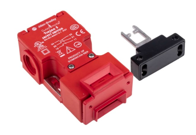 allen bradley guardmaster interlock switch key actuator included fibreglass