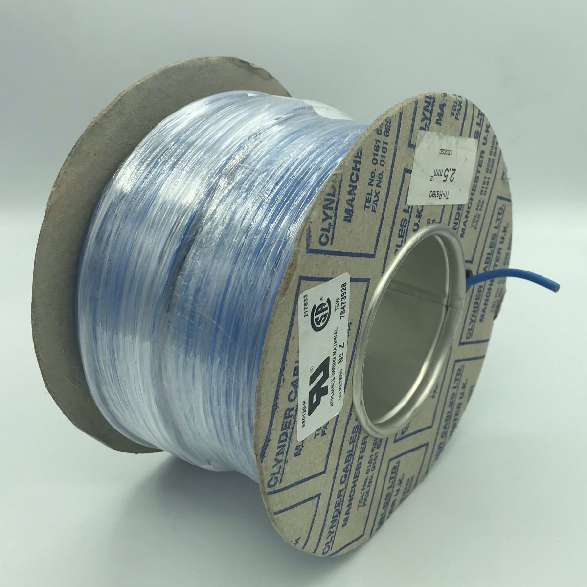 cable blue multistrand single core 25 sq no shielding not for cable chain