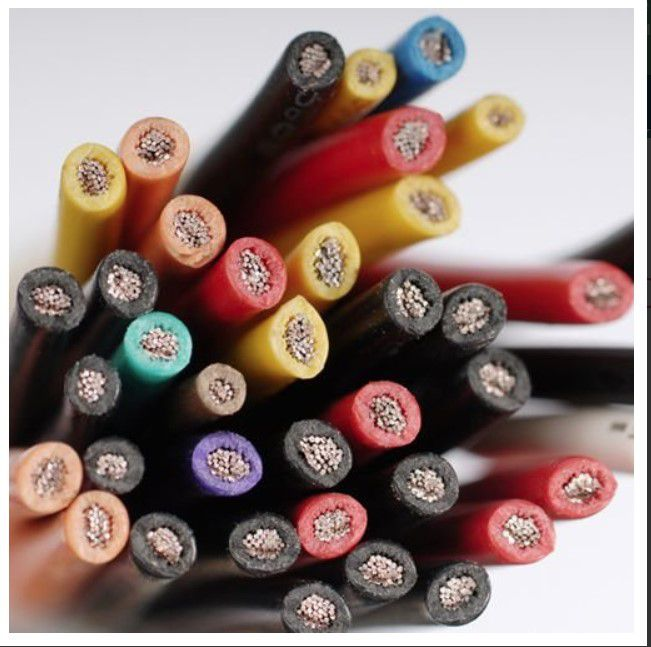 cable brown multistrand single core 25 square no shielding not for cable chain