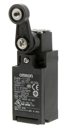 d4n safety switch with roller lever actuator nonc