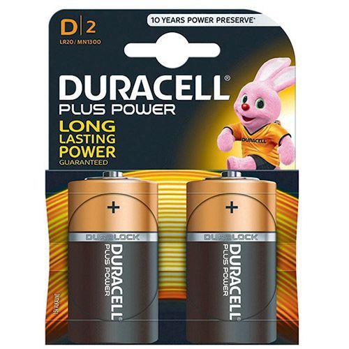 duracell plus battery d pk2 81275443