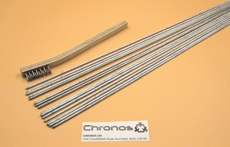 durafix easyweld aluminium welding brazing soldering kit 15 stick kit brush