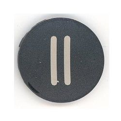 eaton moeller pushbutton 22mm shield black pause