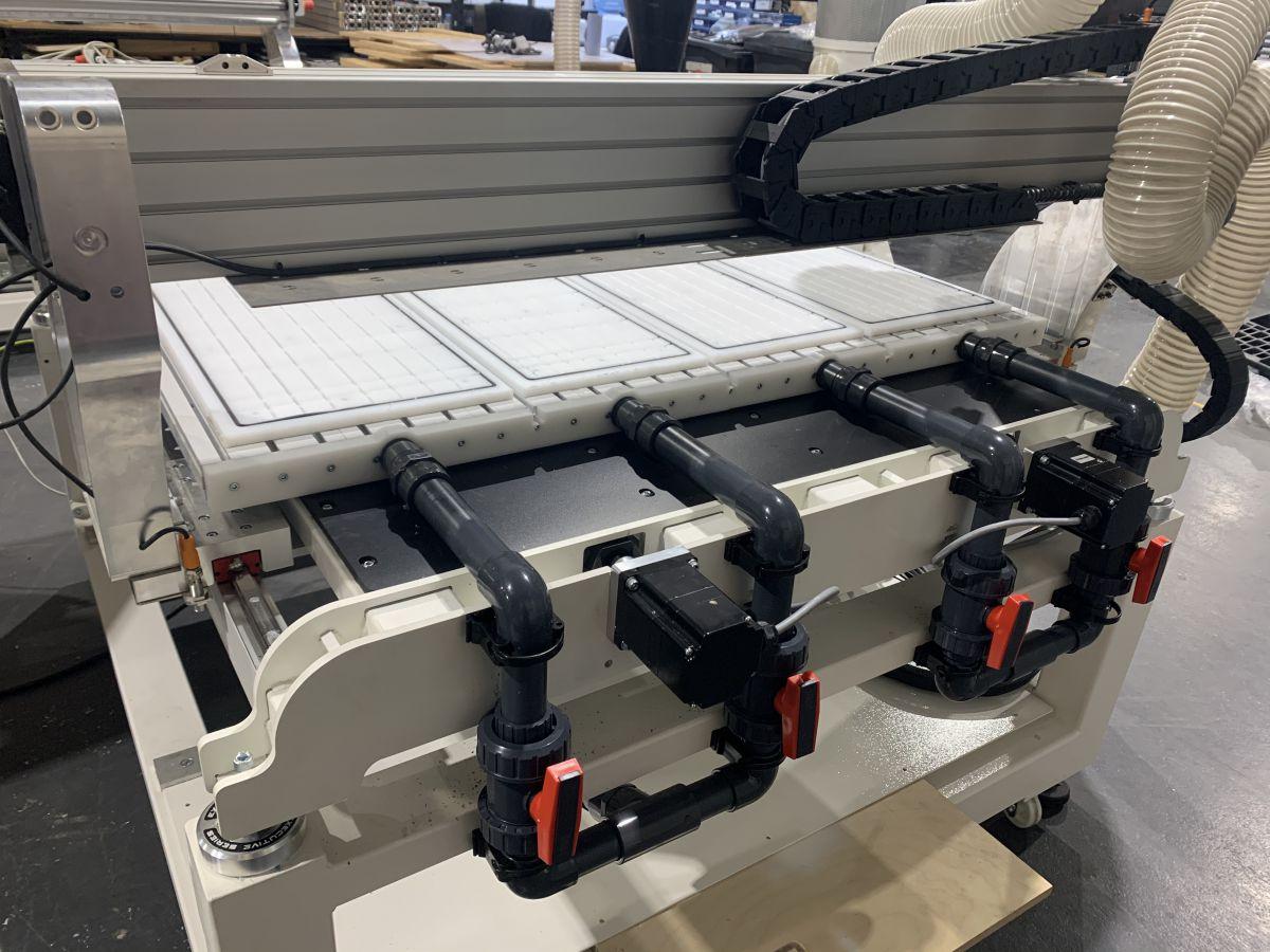 exec 16 vacuum table solution