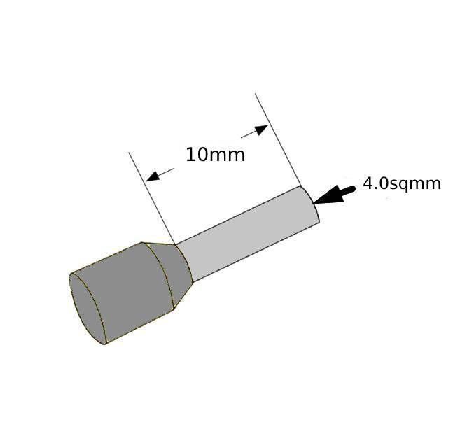ferrules 40sq10mm grey pack 500 v30ae000055