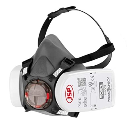 force 8 halfmask with presstocheck p3 filters jsp bht0a30l5n00