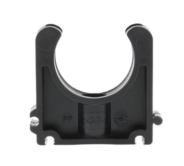 georg fischer pp black pipe clamp 063in x 2in x 142in 024in