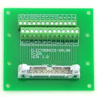 IDC Male Header Connector Breakout Board, Terminal Block. 2 x 13 26 pin