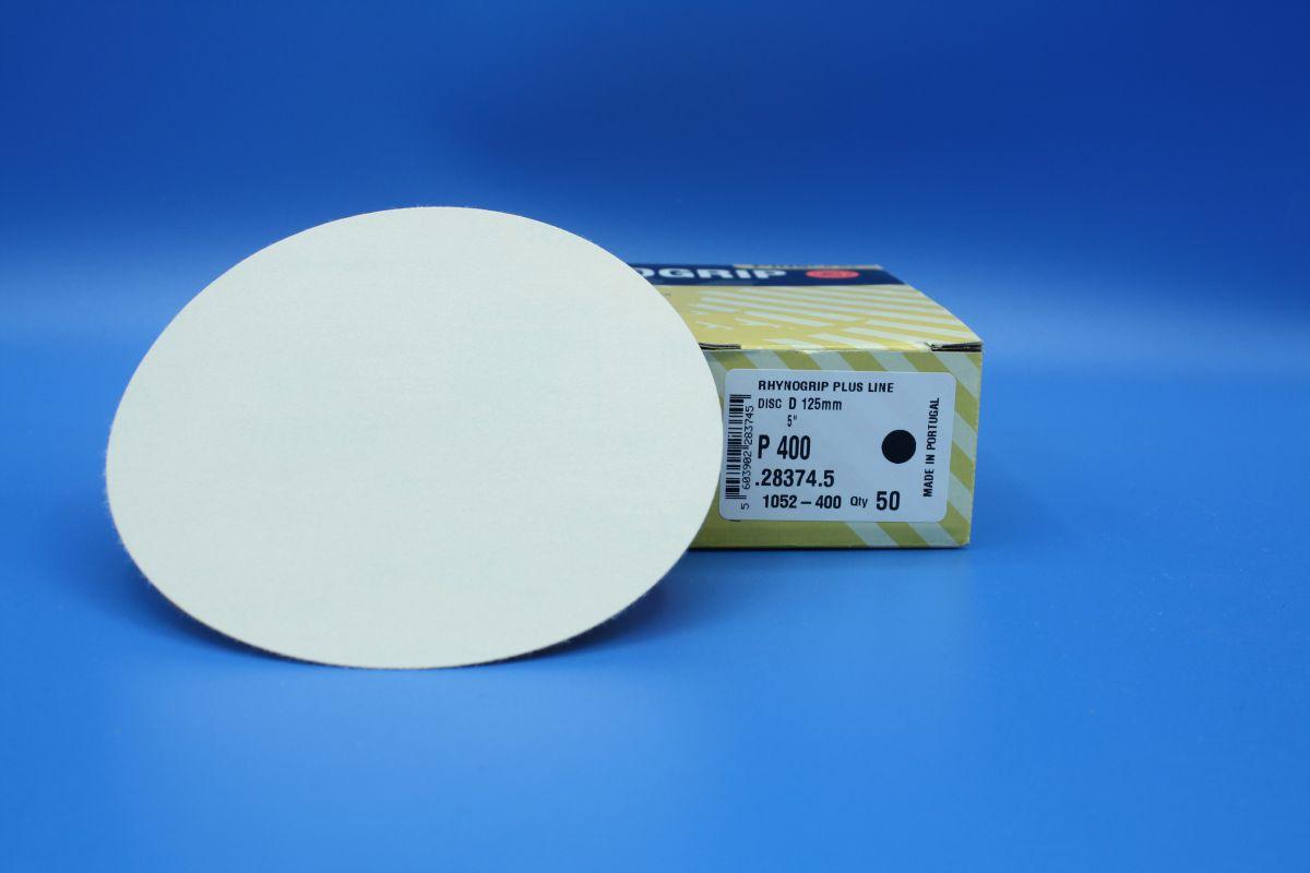 indasa rhynogrip velcro sanding discs 125mm pk50 p400