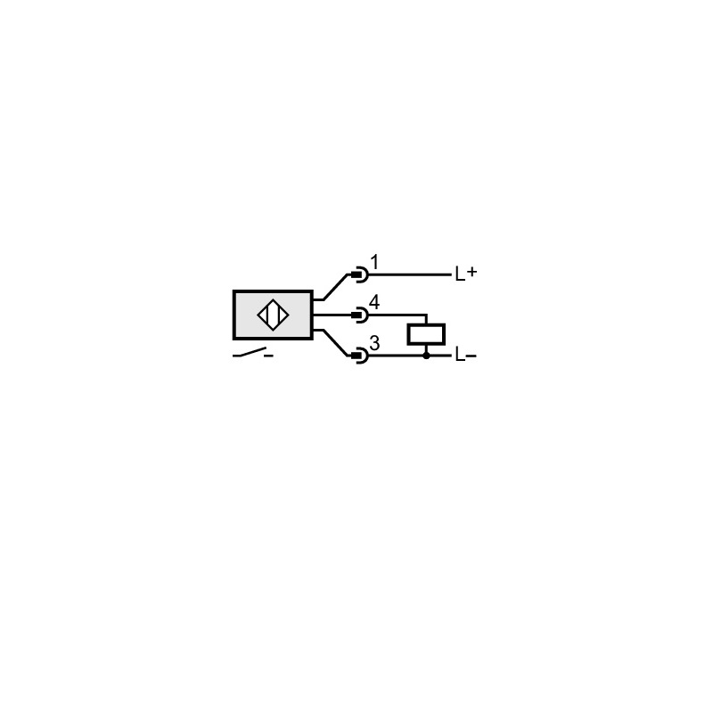 inductive proximity switch ies 200 pnp 1036vdc