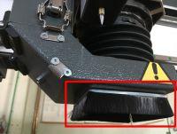JKR - dust shoe brush module