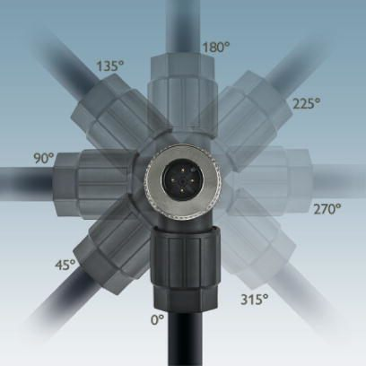 m12 4pole angle male connector 1424654