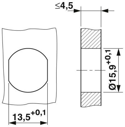 m12 8 pole panel mount female shielded with 100cm wiring