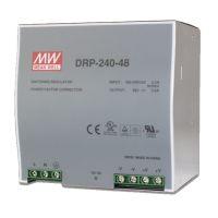 MEAN WELL 240W DIN Rail PowerSupply DRP-240-48 48VDC