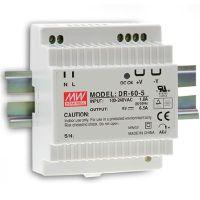 MEAN WELL 60W DIN Rail PowerSupply DR-60-5VDC