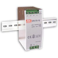 MEAN WELL 75W DIN Rail PowerSupply DR-75-12V 12VDC