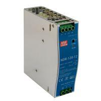 NDR-120-12 12VDC 120W DIN Rail PowerSupply