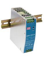 NDR-120-24 24VDC 120W DIN Rail PowerSupply