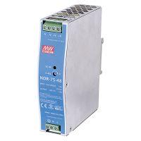 NDR-75-48 48VDC 75W DIN Rail PowerSupply