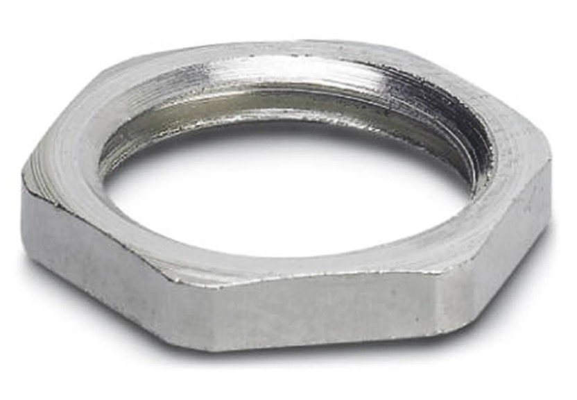 phoenix contact flat nut for use with flush type connector
