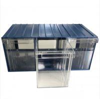 Plastic Drawer 36 Box 204d x 370w x 160h Blue 120-3