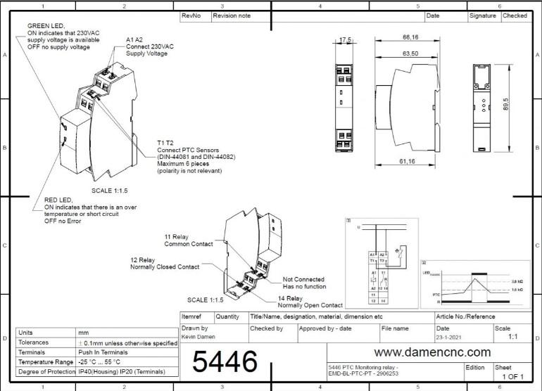 ptc monitoring relay emdblptcpt 2906253 at 85364900
