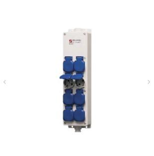 receptacle strip 8 positions mennekes 88677
