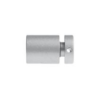 s1sc 16mm satin chrome wall mount 18mm hole 12mm