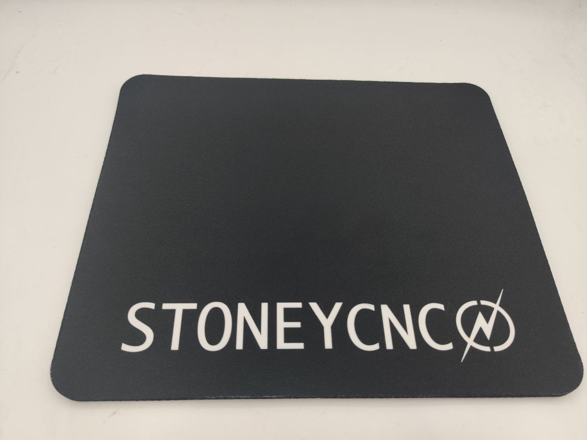 stoneycnc mouse mat 235mm x 195mm