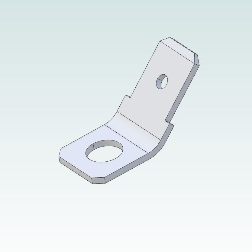 terminal tab male 6308mm