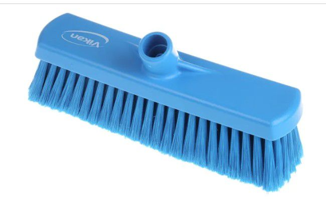 vikan brush head soft blue 300mm