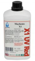 X1 UV Red Premixed Watercooling Fluid 1L